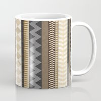 Dusty Aztec Pattern Mug