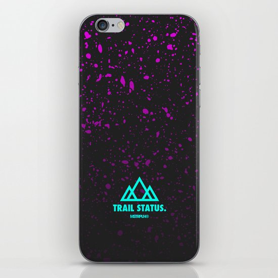 Trail Status / Grey iPhone & iPod Skin