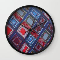 Draper Paper Wall Clock