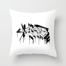 graffiti - AR3 Throw Pillow