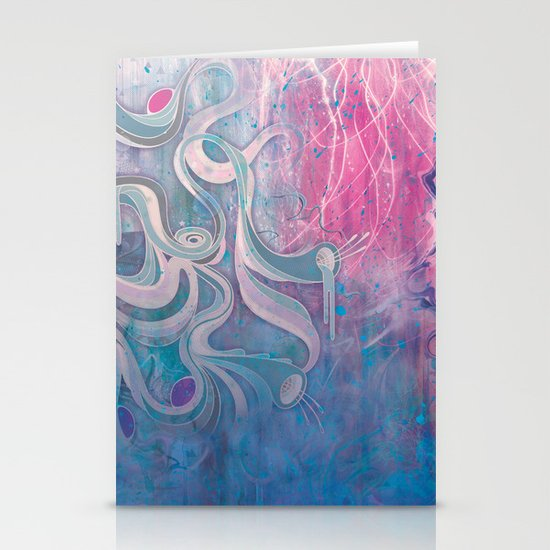 Electric Dreams Stationery Card
