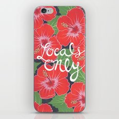 Locals Only iPhone & iPod Skin