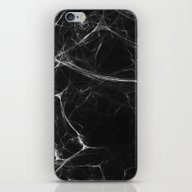 Absolute Black Marble Ed… iPhone & iPod Skin