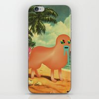 BeacH_PostCArD iPhone & iPod Skin