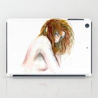 Hidden girl iPad Case