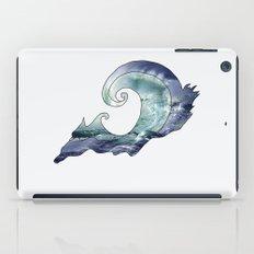 catch a wave iPad Case