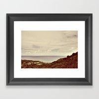 Views Framed Art Print