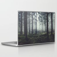 trees Laptop & iPad Skins featuring Through The Trees by Tordis Kayma
