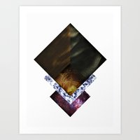 Nebula Life Art Print
