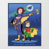 Camey and Liam commission Canvas Print