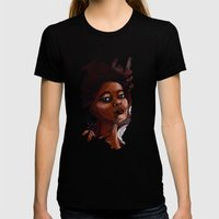 Extraordinary Womens Fitted Tee Black SMALL