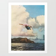 Art Print featuring Fall by Sarah Eisenlohr