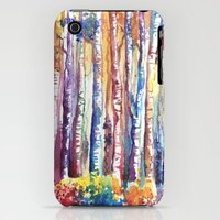 iPhone 3Gs & iPhone 3G Cases featuring magic wood by main