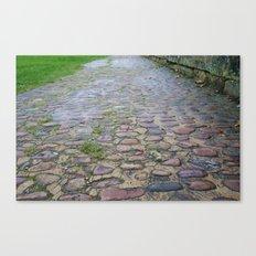 Cobblestones Pattern #1 Canvas Print