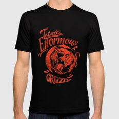 Enormous Grizzly Black SMALL Mens Fitted Tee