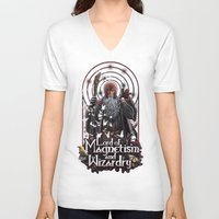 Lord Of MAgnetism And Wi… Unisex V-Neck