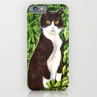 iPhone & iPod Case featuring Kitty by gretzky