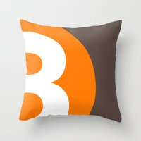 3 Or 8? Throw Pillow