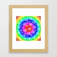 Water Rainbow Framed Art Print
