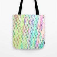 Re-Created Vertices No. 0 by Robert S. Lee Tote Bag