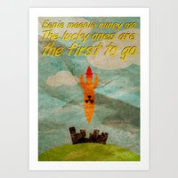 The Lucky Ones Art Print