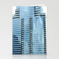 BLUE CHICAGO Stationery Cards