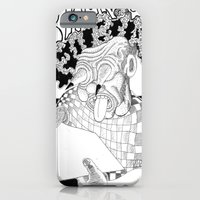 iPhone & iPod Case featuring Branco fobia by Marcelo O. Maffei