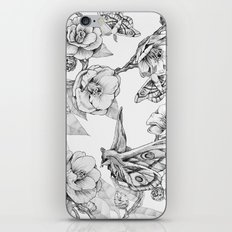 Moths & Camellias iPhone & iPod Skin