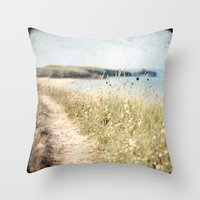 Houat #2 Throw Pillow