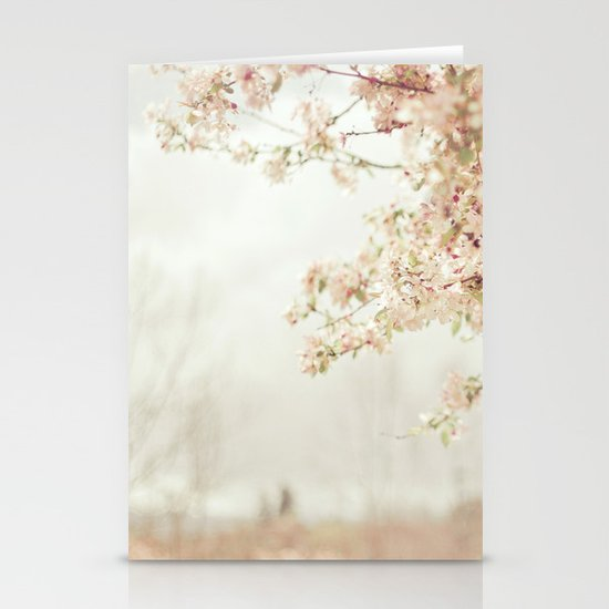 Cherry Tree Garden Stationery Card