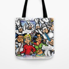 C2 & Posse (This is not Cool!) Tote Bag