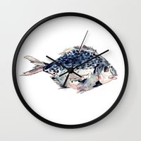 Fairytale Fish Wall Clock