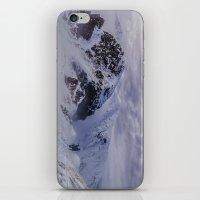 Hiking On Top Of The Wor… iPhone & iPod Skin