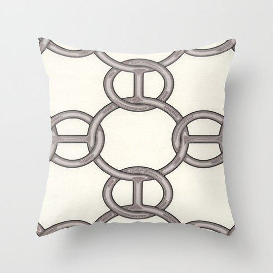 H 2 Throw Pillow