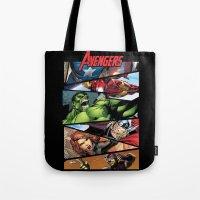 THE.AVENGERS  Tote Bag