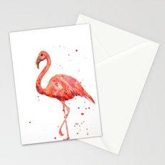 Flamingo, Pink Flamingo, Tropical, bird art, Florida Stationery Cards