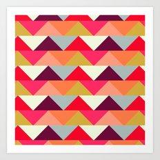 Geo Triangle  Art Print