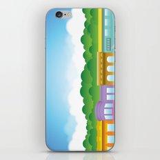 Brooklyn Brownstones iPhone & iPod Skin