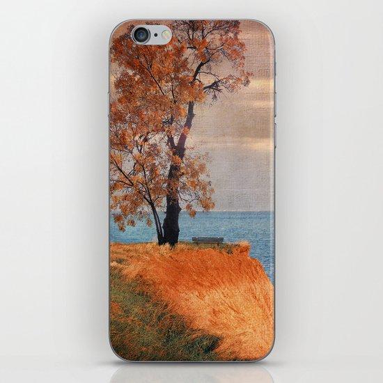 Autumn by the sea iPhone & iPod Skin