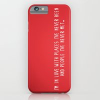 iPhone & iPod Case featuring Places & People I've never met ♡ by rubybirdie