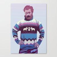 80/90s - Trmd Canvas Print