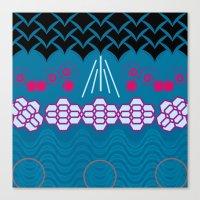 HARMONY pattern Alt 1 Canvas Print