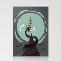 Night Hunt Stationery Cards