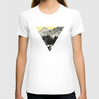 Winter Races Womens Fitted Tee White SMALL