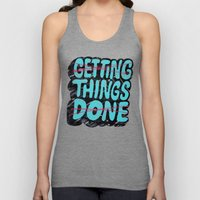Not Getting Things Done Unisex Tank Top