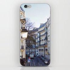 Streets of Paris. iPhone & iPod Skin