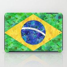BRASIL em progresso iPad Case