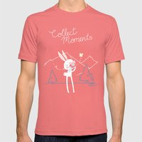 Collect Moments Mens Fitted Tee Pomegranate SMALL