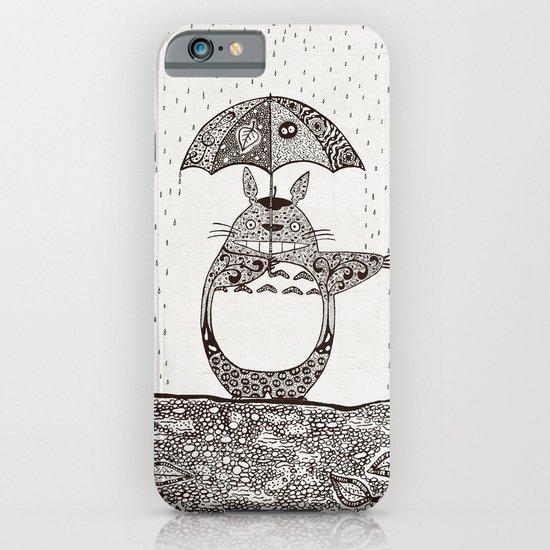 Happy Totoro iPhone & iPod Case