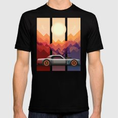 Into the Sun, Ford Mustang 65 KB Mens Fitted Tee Black SMALL